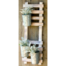 Hanging Rack with 3 Hanging Pots