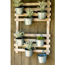 Hanging Rack with 7 Hanging Pots