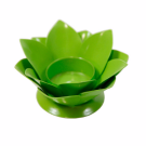 Floral Candle Holder (Green)