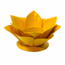 Floral Candle Holder (Yellow)